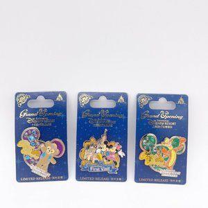 Disney Resort Shanghai Grand Opening Pins Limited